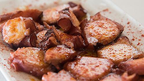 Menú gourmet en el Restaurante Eladio