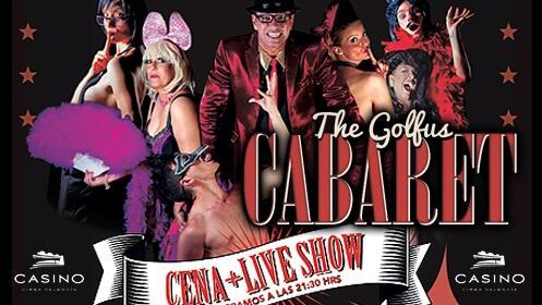 The Golfus Cabaret: cena y espectáculo por sólo 25€