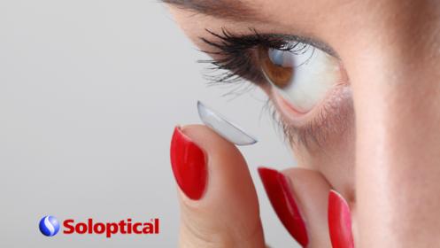Pack de 6 o 12 meses de lentes de contacto hidrogel