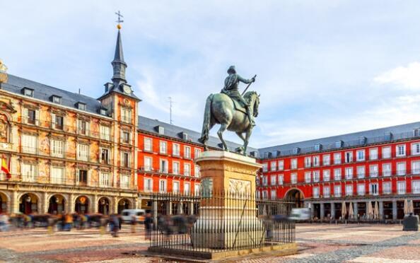 Madrid: 2 noches en hotel + desayuno + walking tour