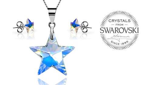 Conjunto Perseida de Swarovski Crystals