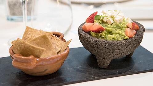 Menú gourmet en el Restaurante Ameyal