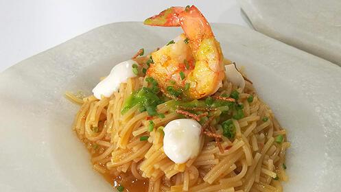 Menú gourmet en el Restaurante Casa Manolo
