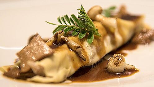 Menú gourmet en el Restaurante Lienzo
