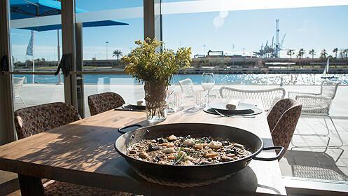 Menú gourmet en el Restaurante La Marítima
