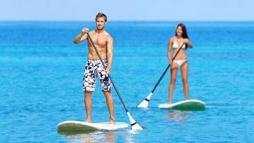 1, 2 o 4h de Paddle Surf en La Pobla de Farnals