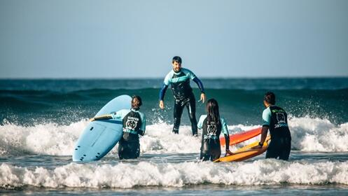 Curso de surf con opción a alojamiento